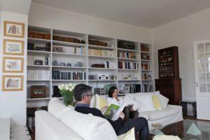 Salon chambres d'hôtes Clos des Campanules Brioude