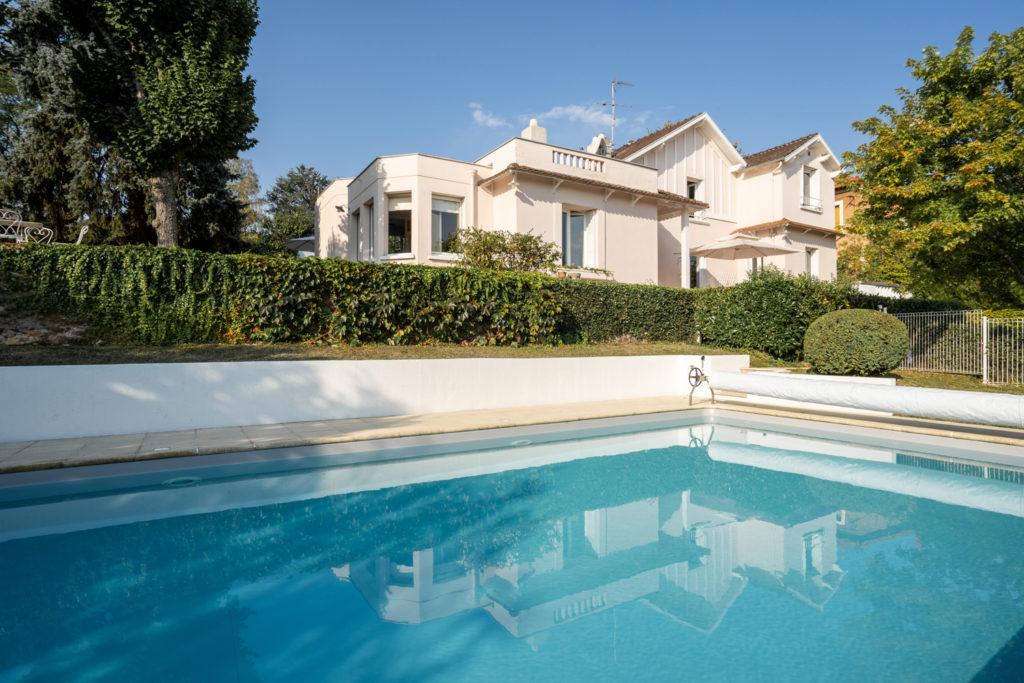 La maison d\'hôtes et sa piscine