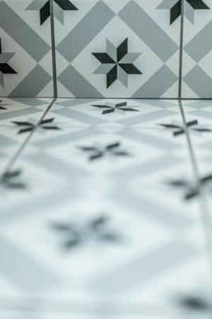 Détail décoration salle de bain chambre Tilleul-Menthe